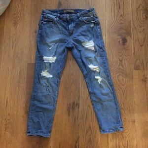 Joe's jeans boyfriend crops sz. 27
